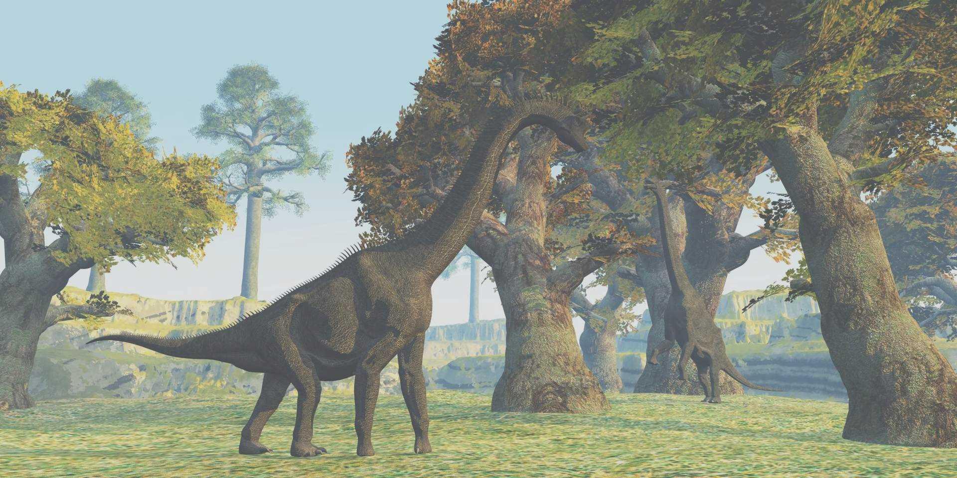 草食の恐竜