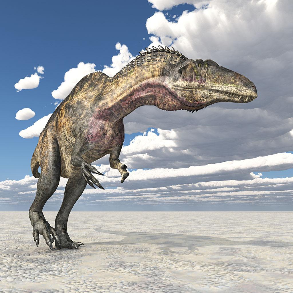 アクロカントサウルス(Acrocanthosaurus) | 恐竜図鑑