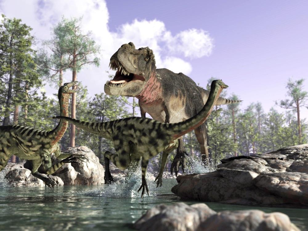 プレデターのティラノサウルス